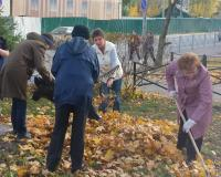 Сотрудники МИАЦ приняли участие в областном субботнике
