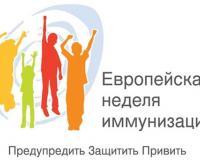 С 26 апреля по 2 мая – Европейская неделя иммунизации